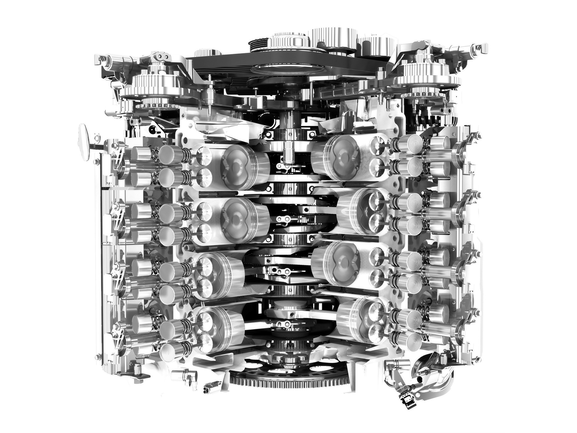 Sample P265d Engine